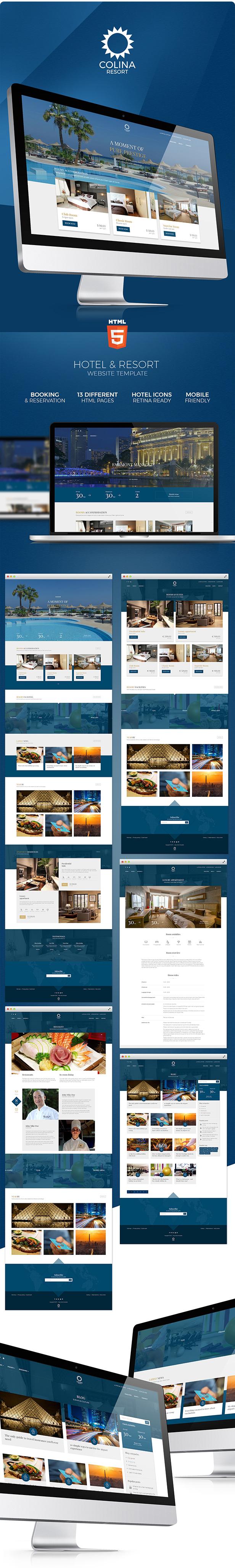 Colina - Hotel HTML Template - 2
